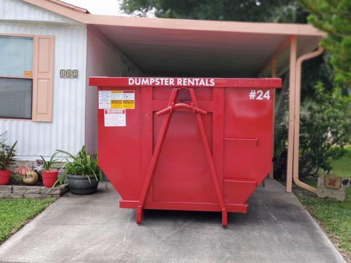 DUMPSTER RENTALS IN ORLANDO